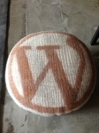 Custom WordPress ottoman